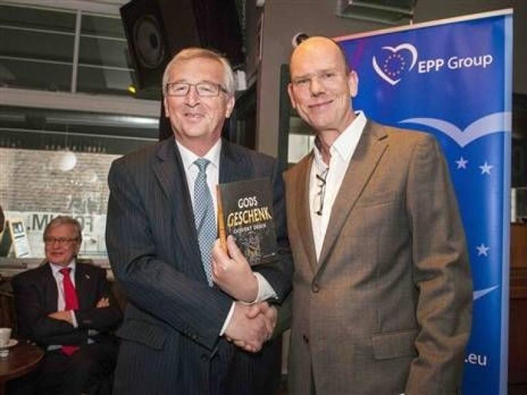 Gods Geschenk voor Jean-Claude Juncker
